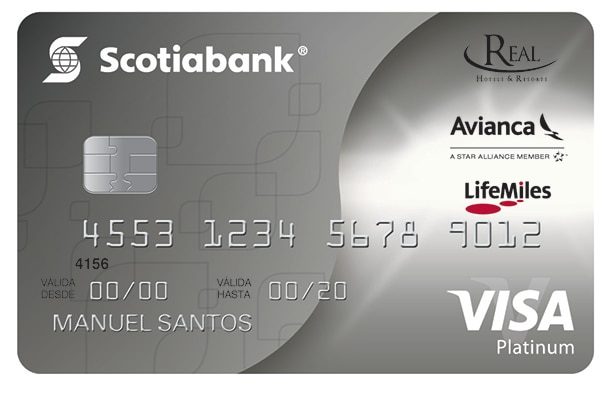 VISA PLATINUM LIFEMILES REAL