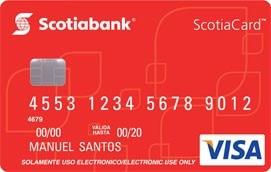 Scotiacard visa d bito - Habilitar visa debito para el exterior ...